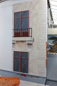 Fenêtres d'un immeuble