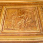 """Détail : la fresque """"Les filles de Loth"""""""