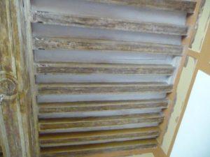 Plafond lessivé