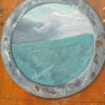 Détail : hublot sur la mer