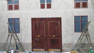 Porte d'un immeuble