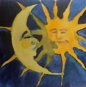 Le soleil a rdv avec la lune
