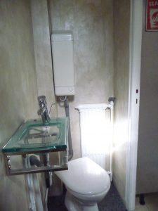 enduit chaux salle de bain